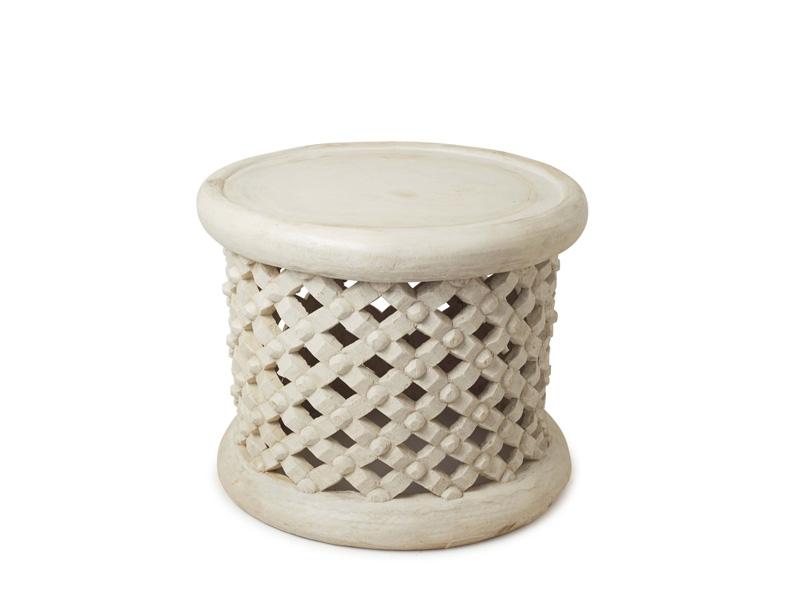 50cm white bamileke