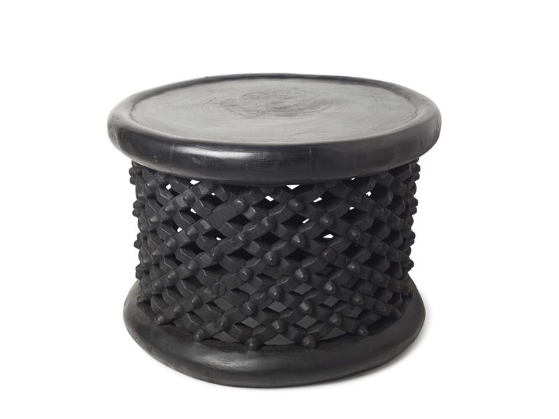 60cm black bamileke