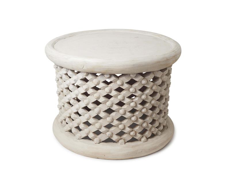 60cm white bamileke