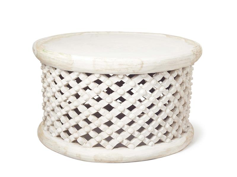 80cm white bamileke