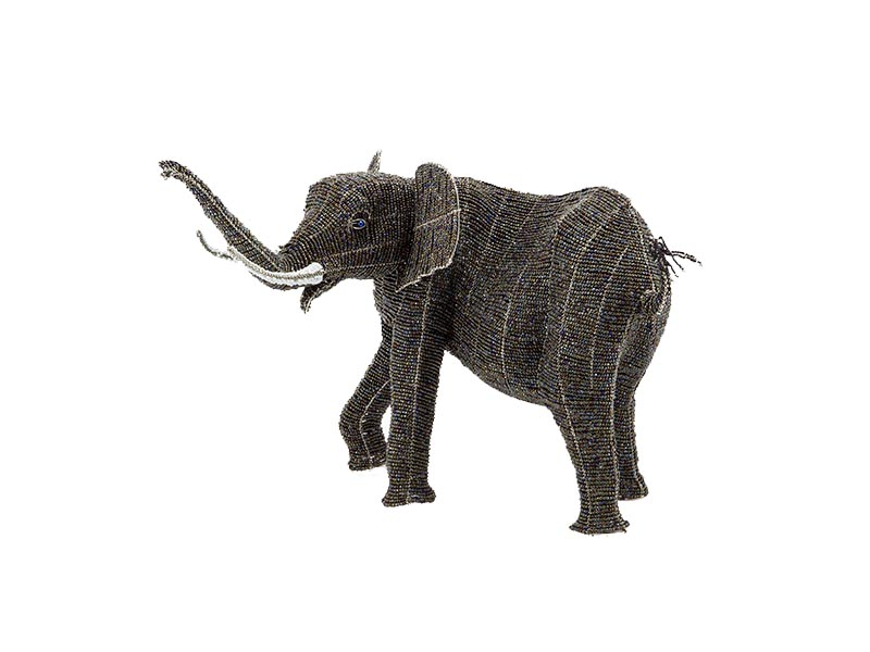 Masterpiece Bead and Wire Elephant