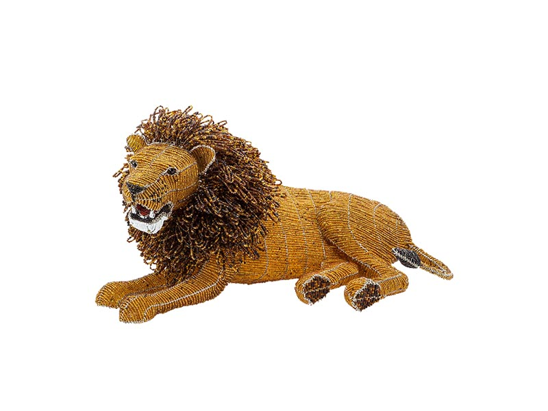 Masterpiece Bead and Wire Lion