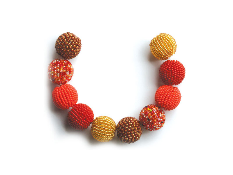 Reds, amber and orange