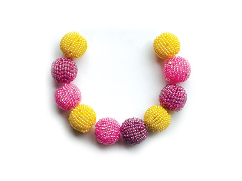 Pinks and yellow