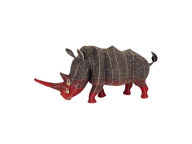 XL Locked Horn Rhino