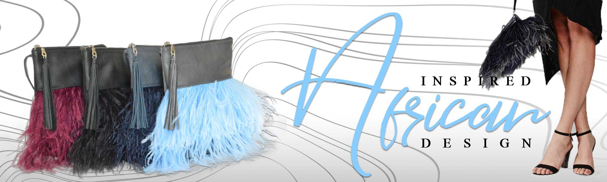 Ostrich Feather Bags