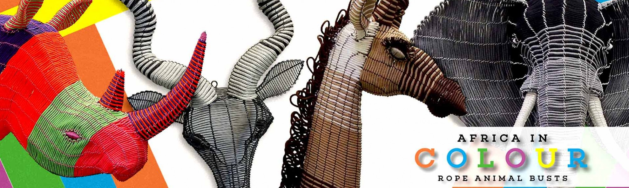 Africa in Colour Rope Animals