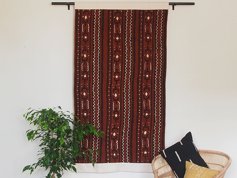 African Creative Brown Wall Hanging