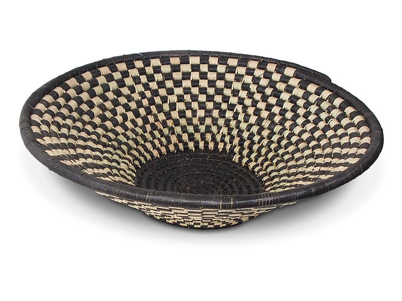 Checkered Zulu Basket