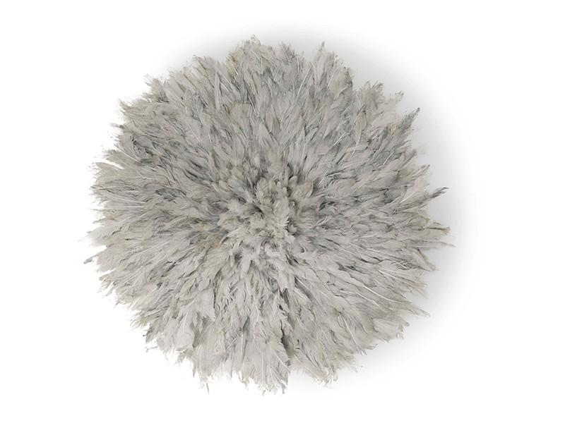 Juju Feather Hat Grey 50cm