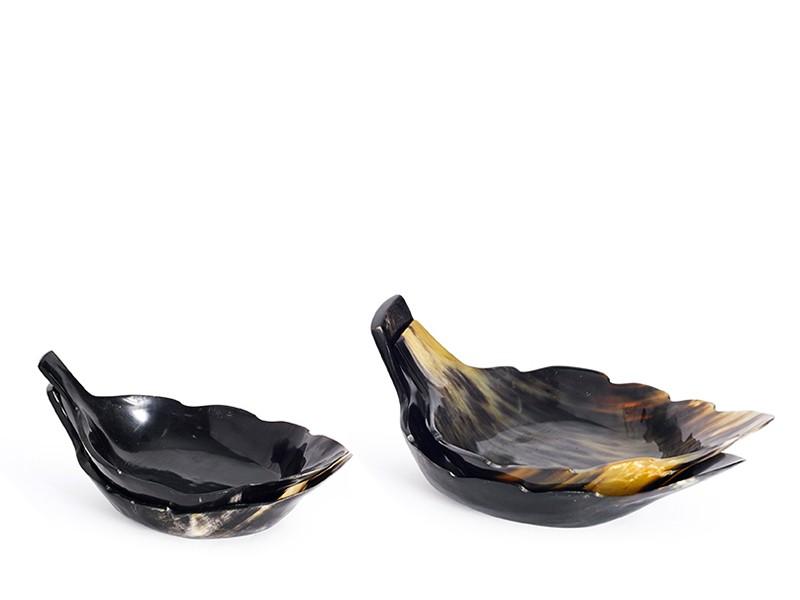 Leaf Shape Horn Bowl