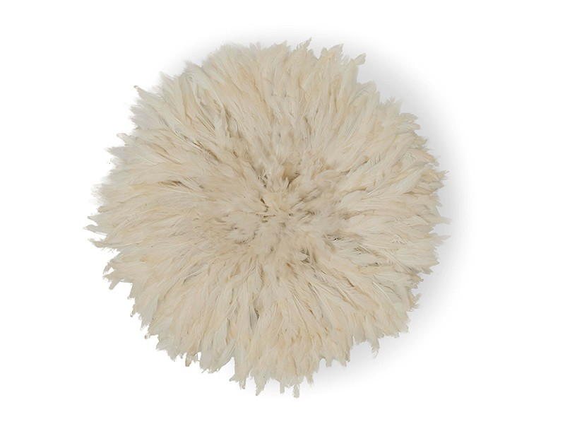 Juju Feather Hat White 40cm