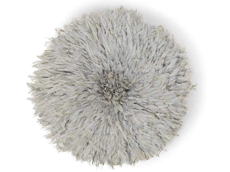 Juju Feather Hat Grey 80cm