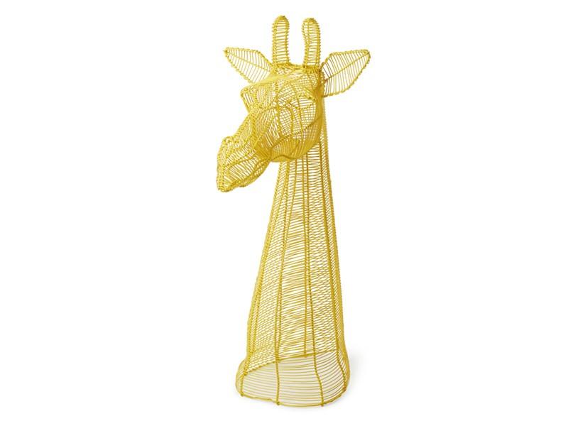 Yellow Giraffe Bust