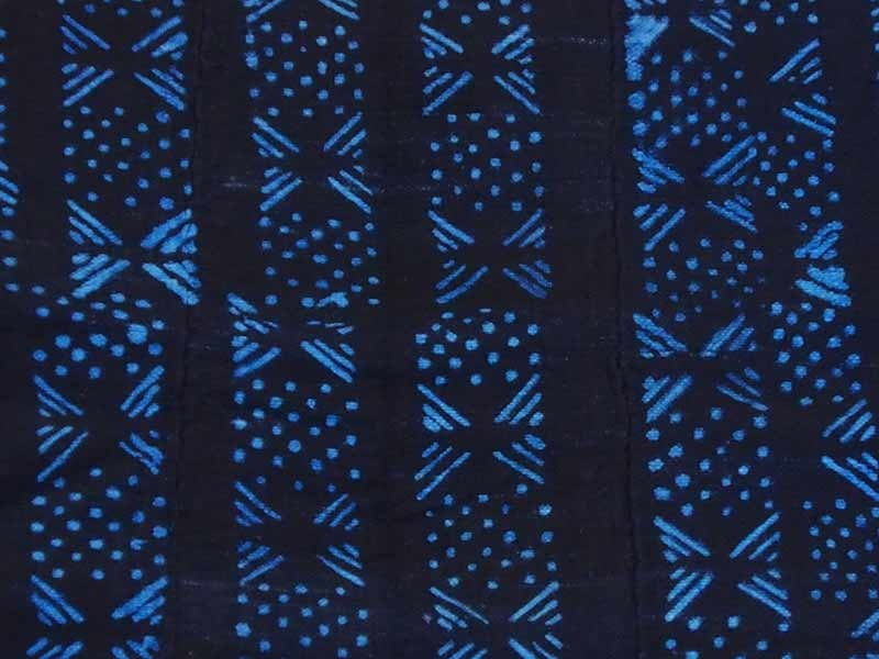 Indigo Cloth - Knots and dots