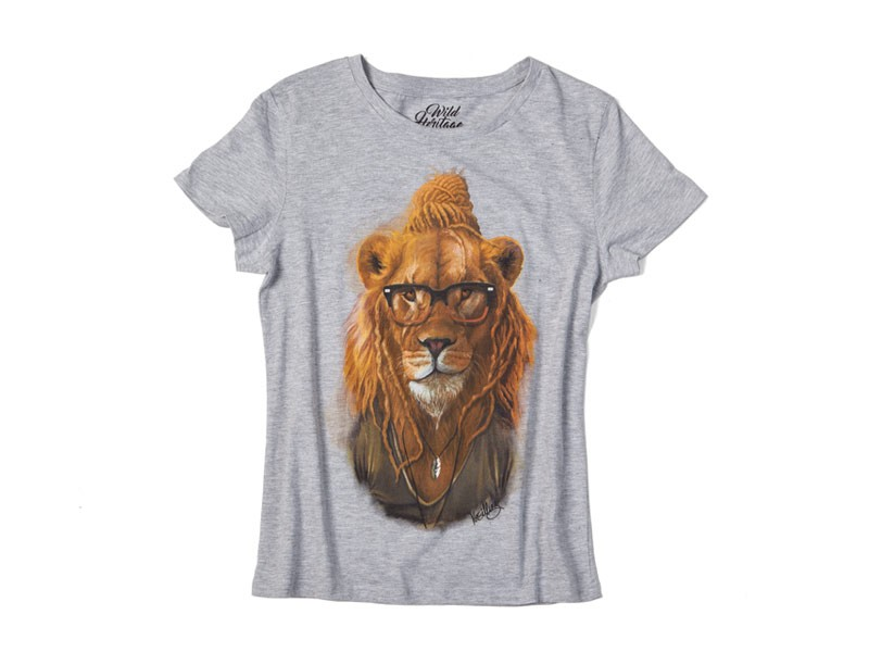 Lion T-Shirt Ladies