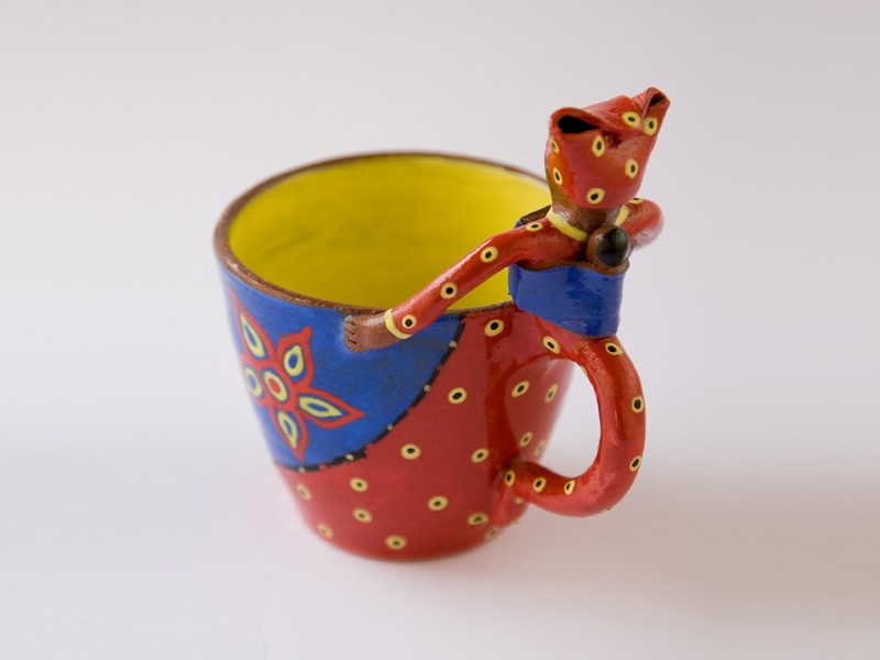 1 Lady Cup with Handle