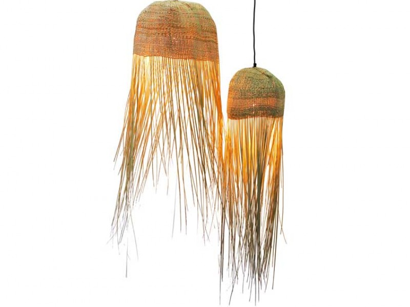 Tassel Basket Light Feature