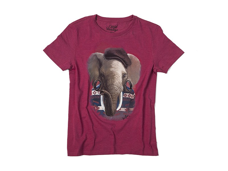 Elephant T-Shirt Mens