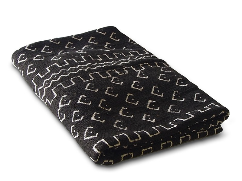 Black Bogolan Mud Cloth