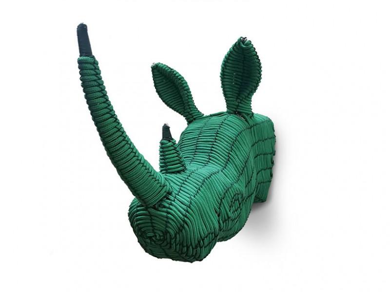 Rope Rhino Head - Mini