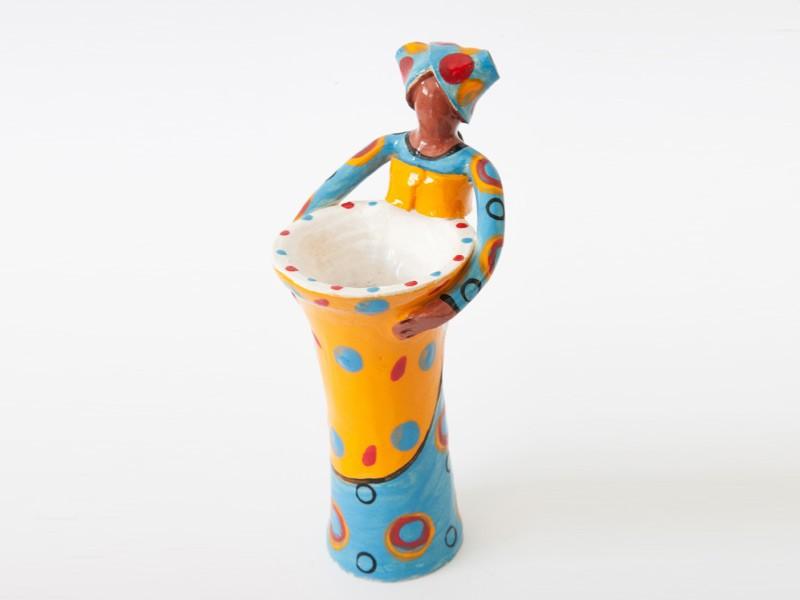 1 Lady Small Vase