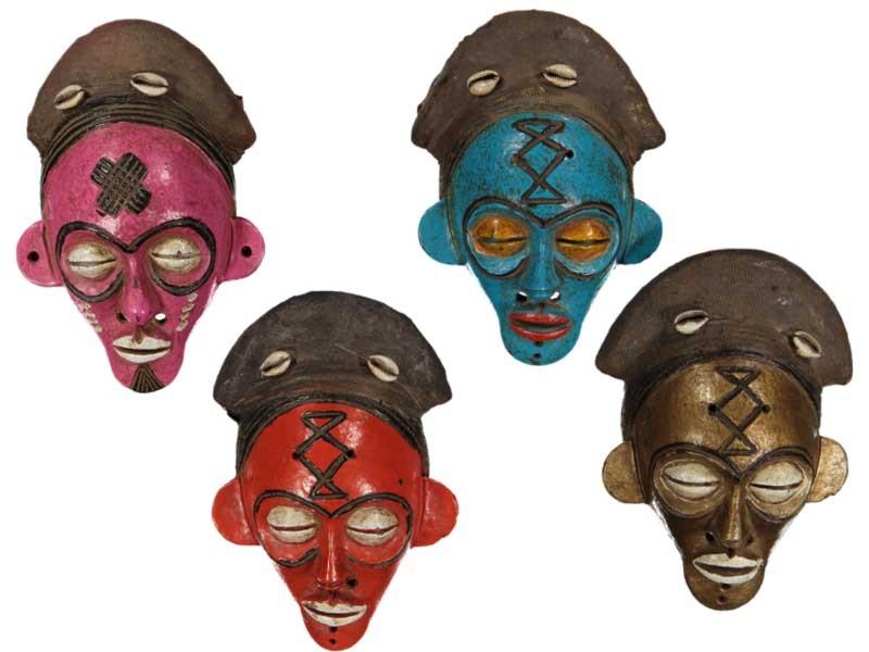 Terracotta Mask - Ivory Coast