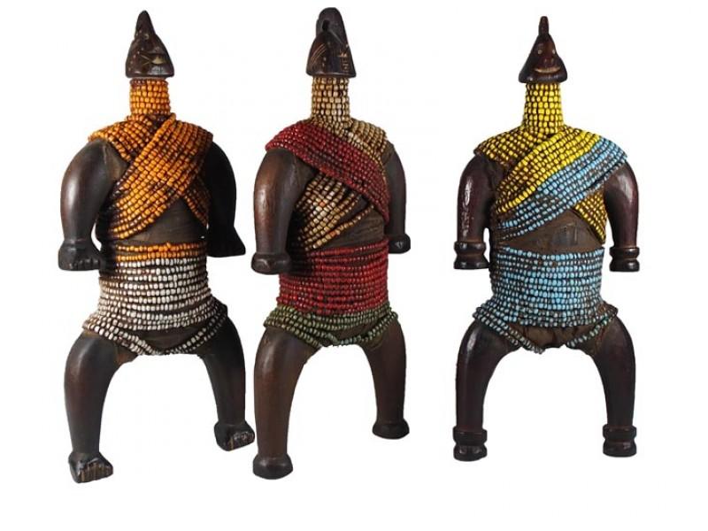 Traditional Cameroon Namji Doll