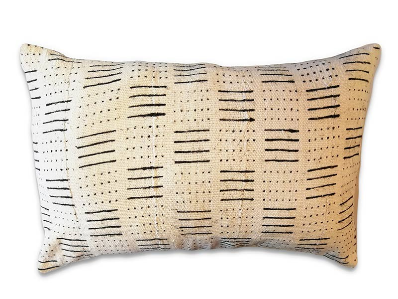 African Mud Cloth Cushion Cover