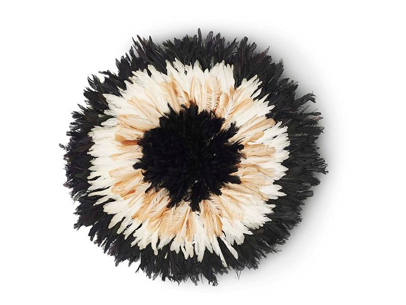 50cm Cocarde Black Centre