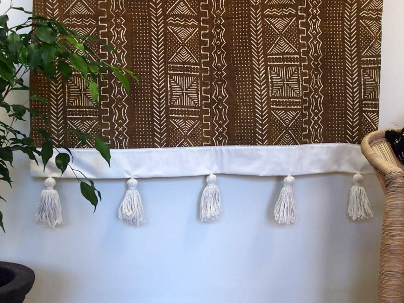 Mudcloth wall hanging