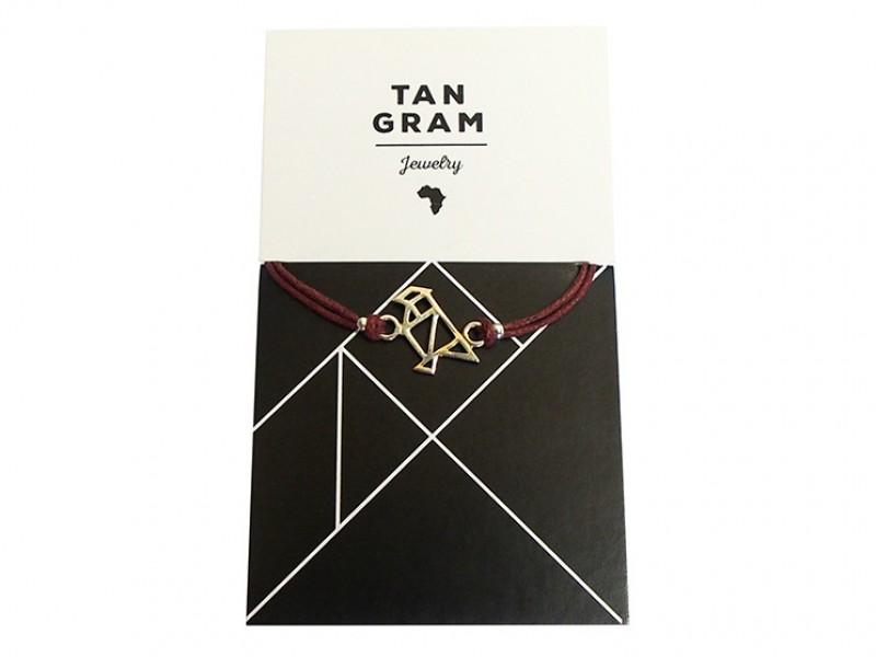 Tangram Bracelet - Bird