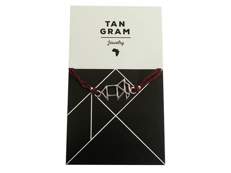 Tangram Bracelet - Elephant