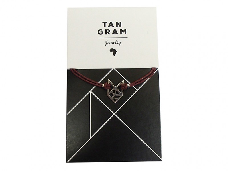 Tangram Bracelet - Fox