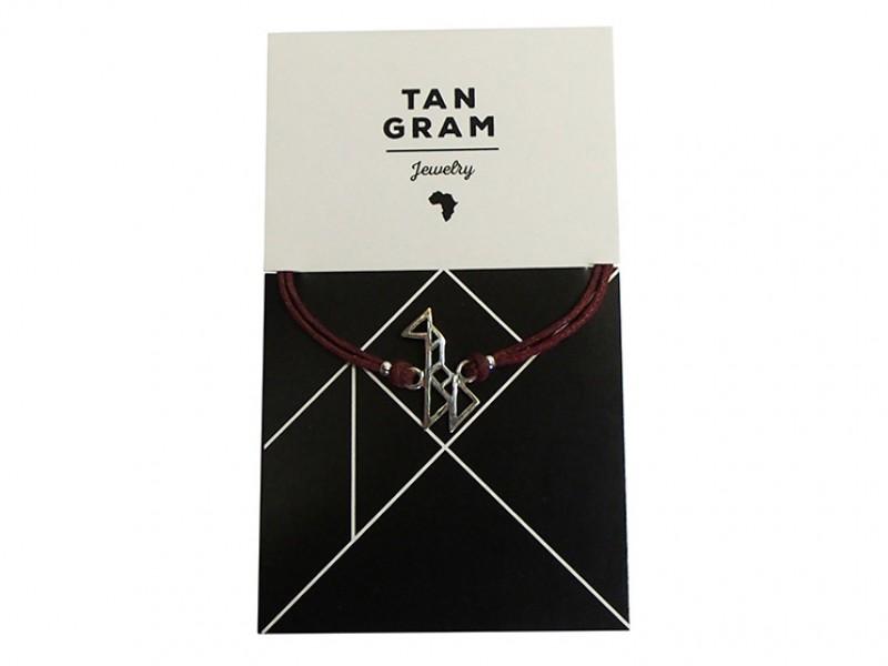 Tangram Bracelet - Giraffe