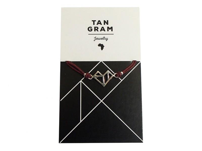 Tangram Bracelet - Heart