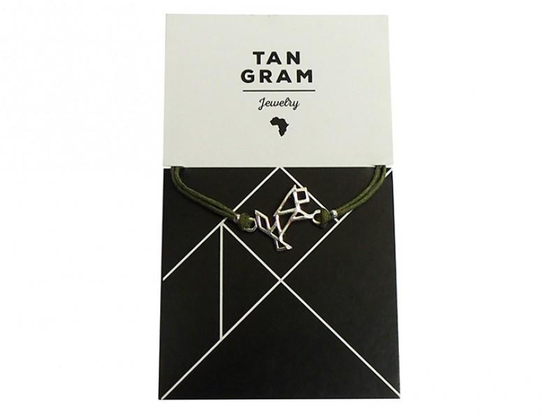 Tangram Bracelet - Lion