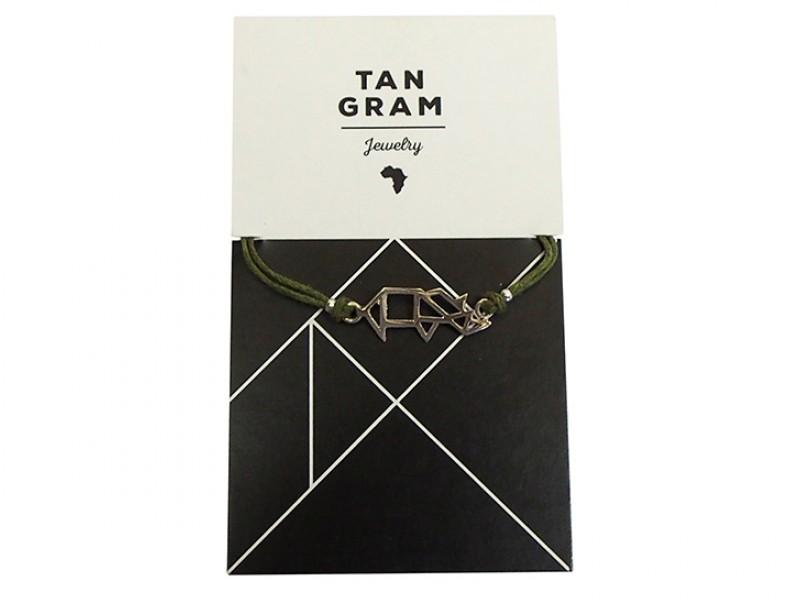 Tangram Bracelet - Rhino