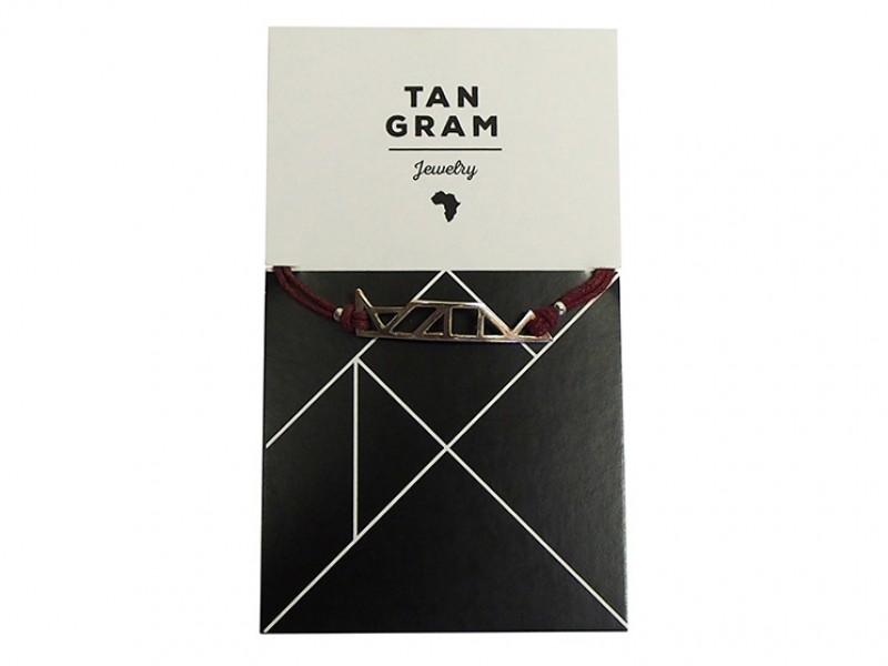 Tangram Bracelet -  Table Mountain