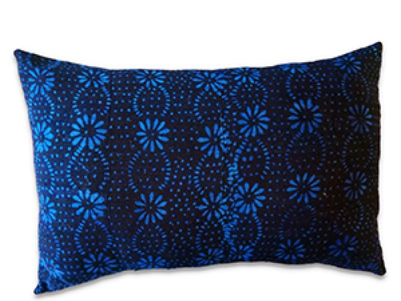 Vintage Indigo Cushion Cover