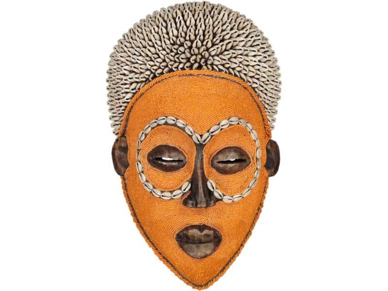 Orange with Afro