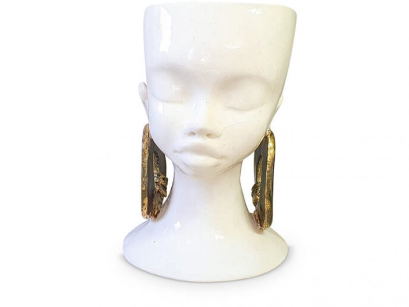 Ceramic Lady Head