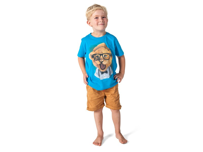 Lion Cub T-Shirt - Solar Blue