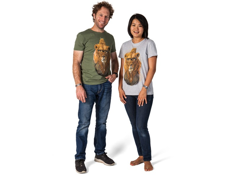 Mens and Ladies Lion T-Shirt