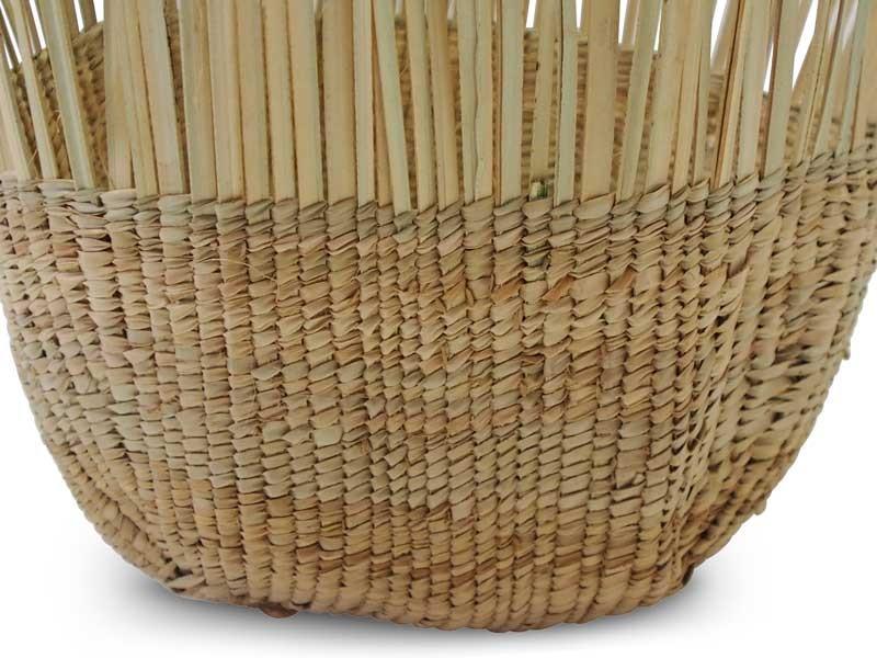 Tassel Basket_Natural_Focus