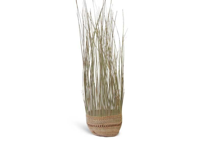 Tassel Basket_Natural_Medium