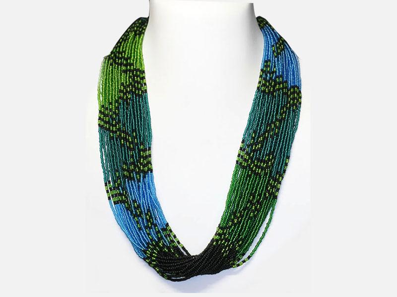Drape Long Necklace