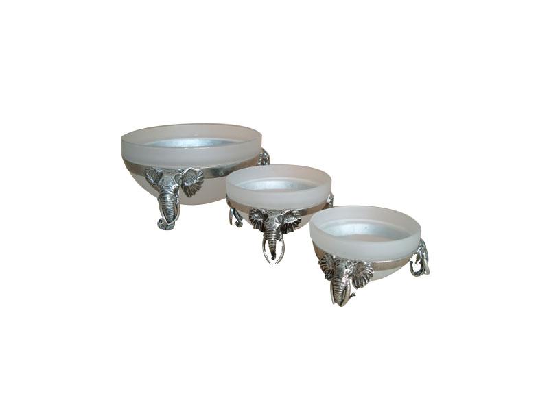 Stackable Elephant Bowls
