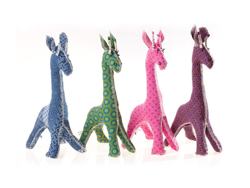 Shweshwe Giraffe